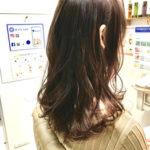 HANABIの抗酸化グロッシーカラーで髪質改善^_^